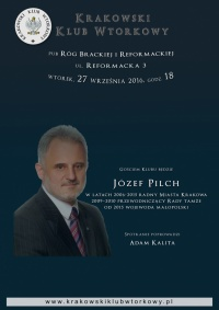 Józef Pilch - wojewoda małopolski